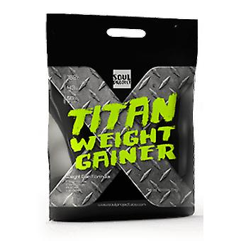Soul Project Titan Weight Gainer Flavor Chocolate 7 kg (Sport , Kohlenhydrate)