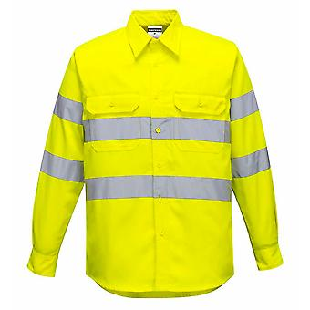 Portwest - Hi-Vis Safety Workwear Long Sleeved Shirt