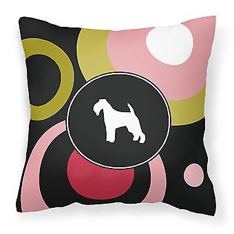 Carolines tesoros KJ1069PW1414 Terrier Galés lona decorativa tela Pillo