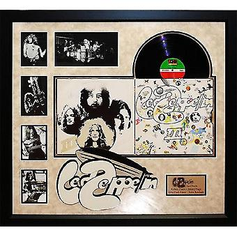 Led Zeppelin - III - Signed Album