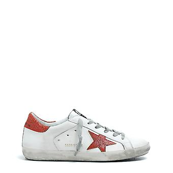 Golden Goose women's G32WS590D90 White leather of sneakers