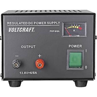 Bench PSU (fixed voltage) VOLTCRAFT FSP-1136 13.8 Vdc 6 A 85 W No. of outputs 1 x