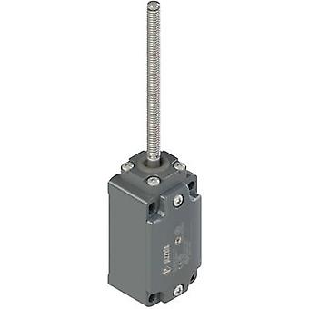 Limit switch 250 Vac 6 A Spring-loaded rod momentary