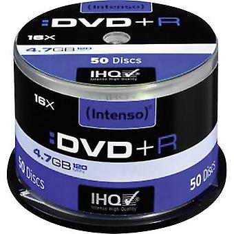 Blank DVD+R 4.7 GB Intenso 4111155 50 pc(s) Spindl