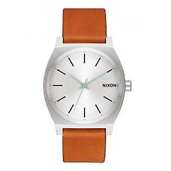 Nixon de tijd-Teller zilveren / Tan (A0452853)