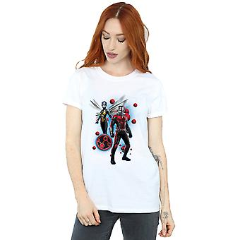 Marvel Women's Ant-Man and The Wasp Particle Pose Boyfriend Fit T-Shirt
