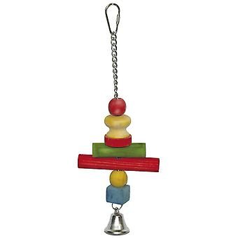 Ica Large cross toy with bell (Birds , Toys)