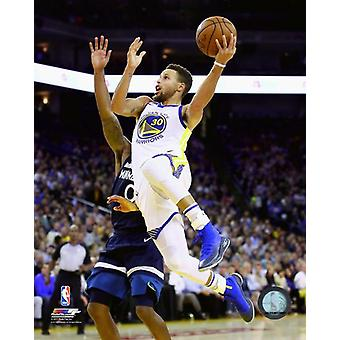 Stephen Curry 2017-18 Action Photo Print