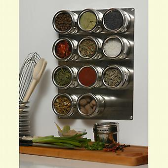 Soho Spices 12 Piece Shakers Set and Base