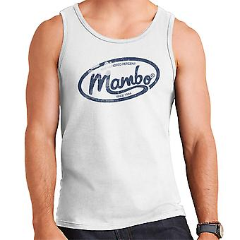 Mambo Oval Logo Dark Men's Vest