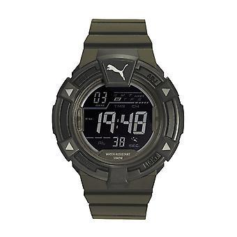 PUMA reloj pulsera reloj hombre reloj analógico digital del silicón PU911381002 chocan