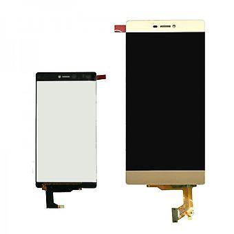 Display LCD Komplett Einheit für Huawei Ascend P8 Gold