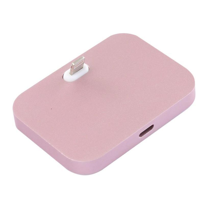 Dock står for Apple iPhone 7 7 pluss 6 S 6 og 6 6 S pluss iPhone SE Rose Gold