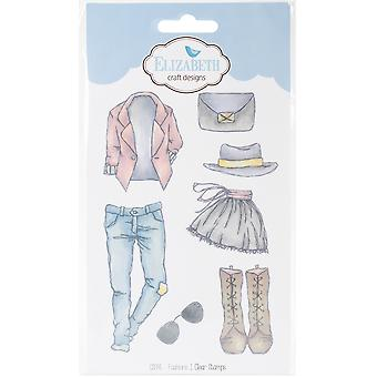 Elizabeth Crafts Clear Stamps-Fashions 1