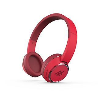 IFROGZ CODA WIRELESS HEADPHONES WITH MIC RED