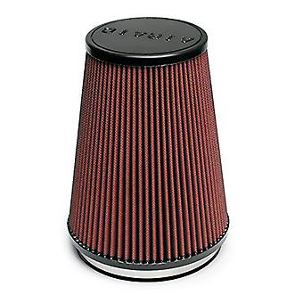 Airaid 700-469 Universal Clamp-On Air Filter: Round conico; 6 pollici (152 mm) flangia ID; 9 in (229 mm) altezza; 7,25 in (184