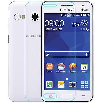Samsung Galaxy Core 2 Displayschutzfolie 9H Verbundglas Panzer Schutz Glas Tempered Glas