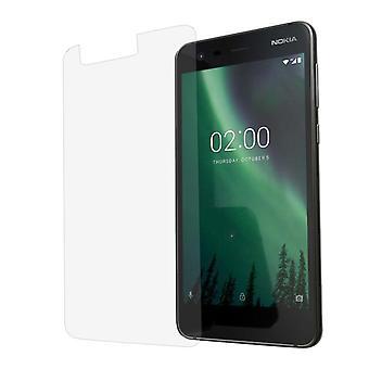 Nokia 2 Displayschutzfolie 9H Verbundglas Panzer Schutz Glas Tempered Glas