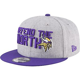 New era Snapback Cap - NFL 2018 DRAFT Minnesota Vikings
