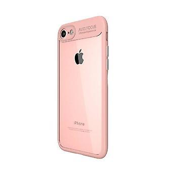 Stuff Certified® iPhone 8 - авто фокус броня случае покрытия Cas силиконовые ТПУ случае розовый
