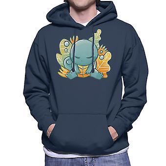 Pokemon Sleeping Squirtle Men's Hooded Sweatshirt