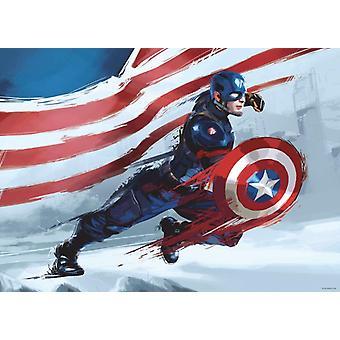 Captain America Maxi Poster Bedroom Decoration 160x115cm