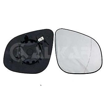 Right Driver Side Mirror Glass (heated) & Holder for RENAULT KANGOO 2012-2017