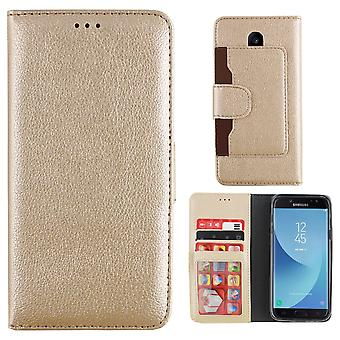 Colorfone Wallet Samsung Galaxy J3 2017 wallet pouch GOLD