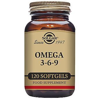 Solgar Omega 369 Soft gelatine capsules (Vitamins & supplements , Omegas & fatty acids)