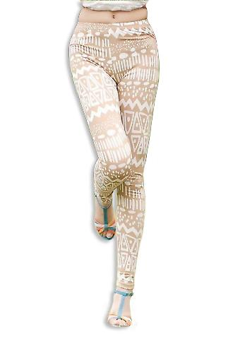 Waooh - Fashion - Legging long pattern old totem