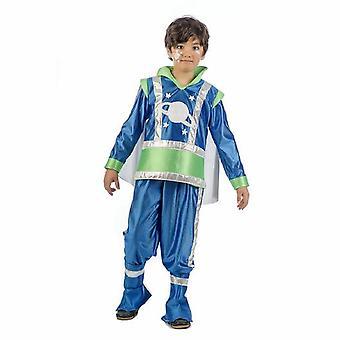 Space star young costume space boy Außeriridischer child costume