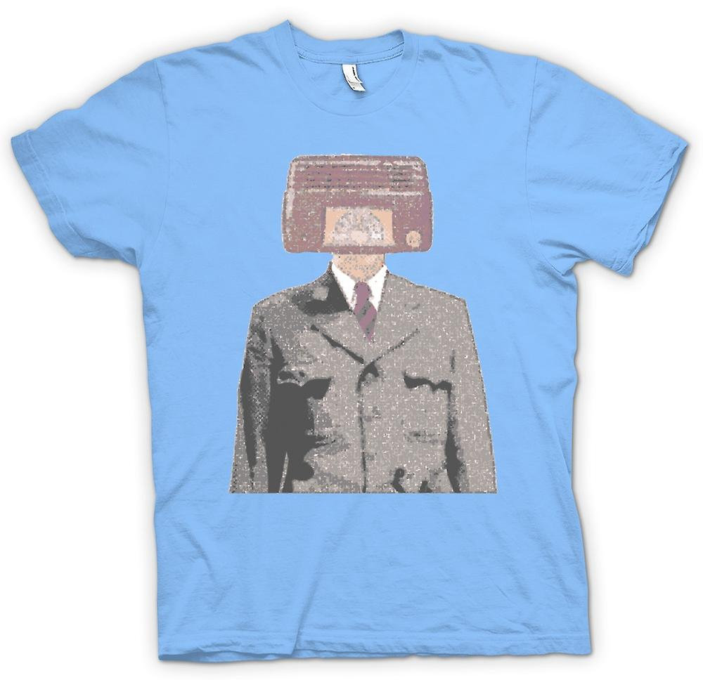 Mens t-shirt-Radiohead - Pop Art - Design