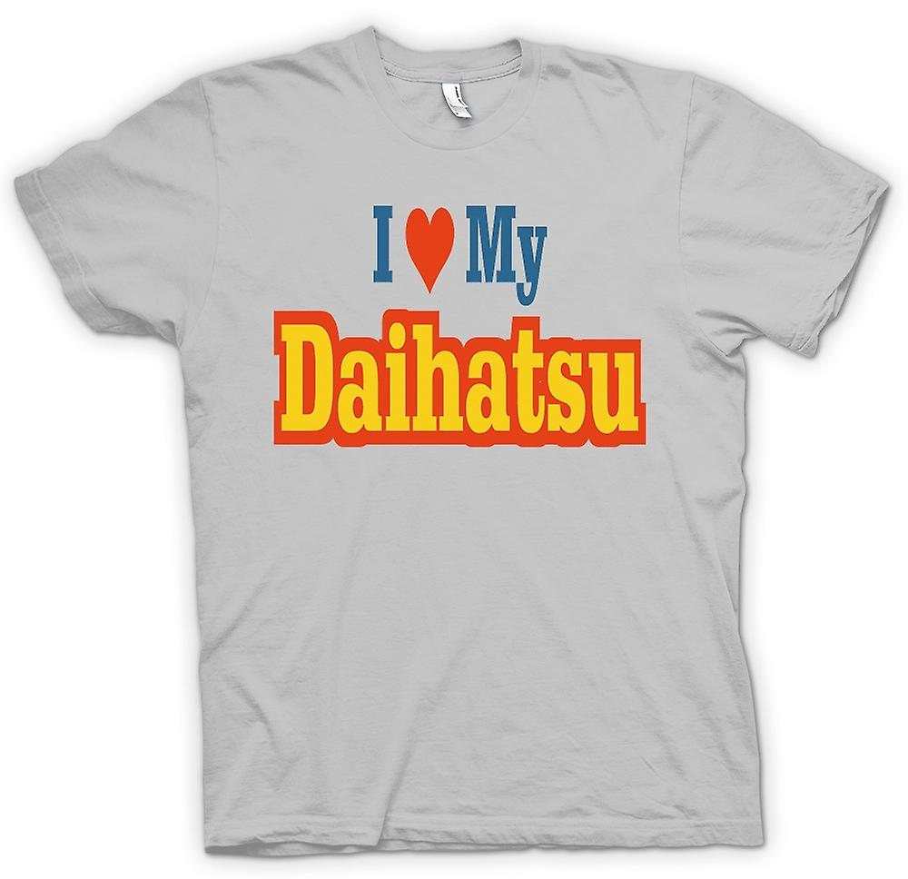 Mens T-shirt - I love my Daihatsu - Car Enthusiast