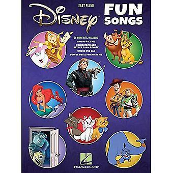 Disney Fun Songs: Easy Piano