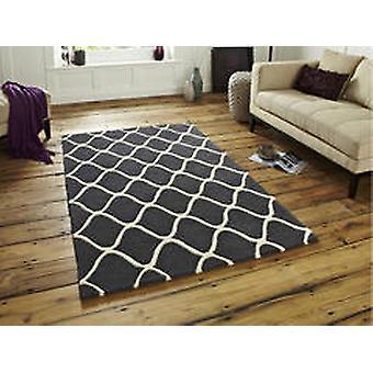 Elementen EL65 grijze rechthoek tapijten Plain/bijna gewoon tapijten