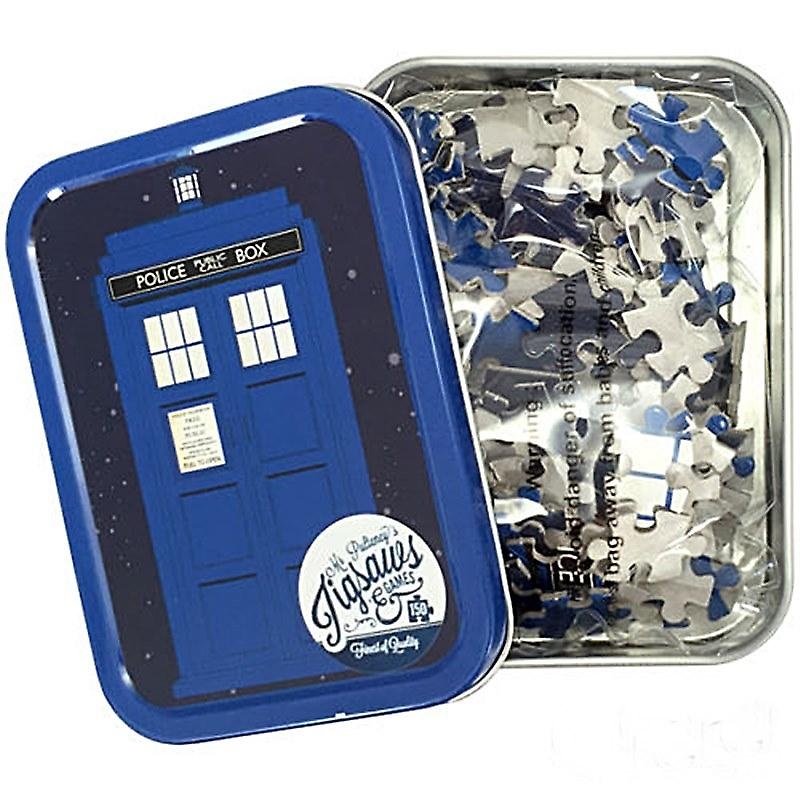 Doctor Who Tardis 165 piece jigsaw puzzle in a tin (hb)
