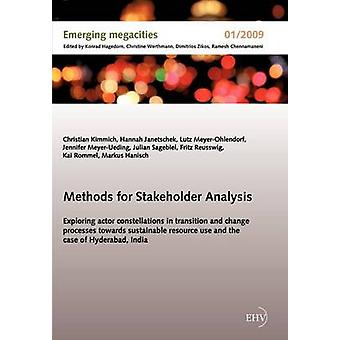 Methods for Stakeholder Analysis by Kimmich & Christian