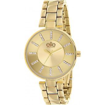 Elite E55024-102 - kobieta gold zegarek stal