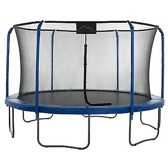 Skytric - 11 FT. Big Trampoline with Top Ring Enclosure System, Safety Net, Jumping Mat, Spring Cover Pad for Garden & Outdoor - Easy Assemble