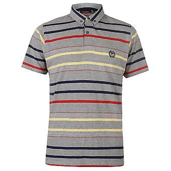 Pierre Cardin Mens Stripe 4 poloshirt T T-Shirt korte mouw Tops