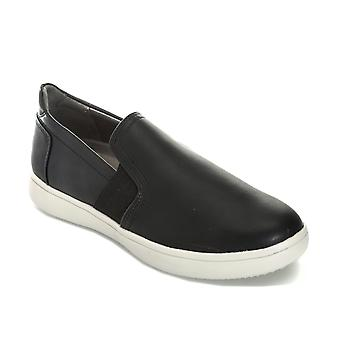 Womens Rockport Regli Gore Slip On formateurs en noir