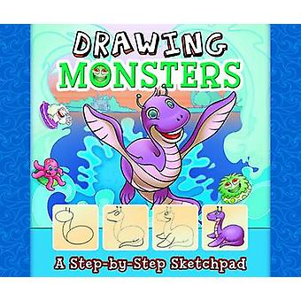 Drawing Monsters by Mari Bolte - Lucy Makuc - 9781491402917 Book