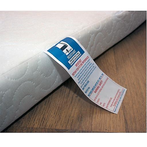 X Depth allergenic Foam Cot MattressSize60cm Quilted 120cm13cm Breathable Anti XNwk0P8nO