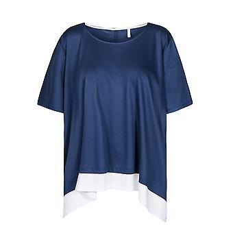 Rosch 1194659-16516 camiseta de pijama azul oscuro de la curva de las mujeres