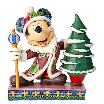 Disney Traditions Mickey Mouse Father Christmas 'Jolly Ol St Mick' Figurine