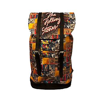 The Rolling Stones Backpack Heritage Bag Vintage Album Band Logo new Official