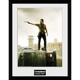 The Walking Dead Season 3 Framed Collector Print 40x30cm