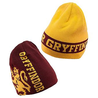 Harry Potter Gryffindor Reversible Knit Beanie