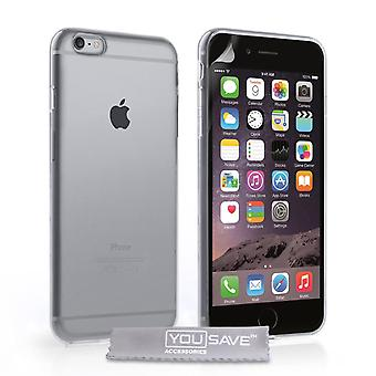 Yousave Accessories iPhone 6 Plus and 6s Plus Clear Gel Case