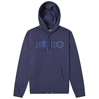 Kenzo Paris Logo Cord Hoodie